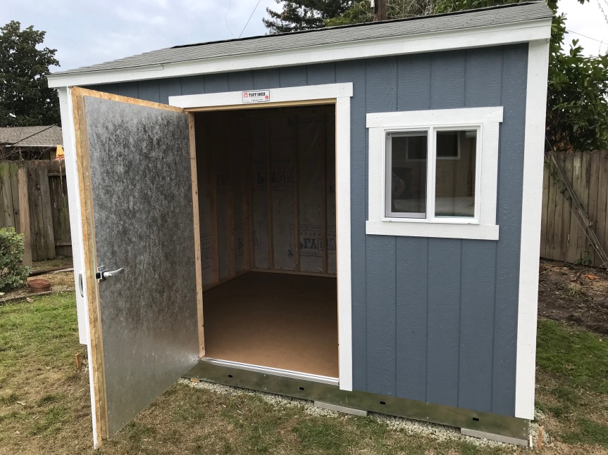 Shed Build-Out Update